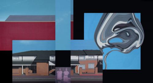 At The Same Time, London, acrylic on canvas, 105x200cm 2009.jpg